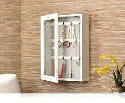 Jewelry Storage Cabinet Hanging Wall Jewelry Box Jaylimdesign