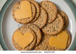 heart shaped crackers cheese and crackers stock images royalty free images vectors
