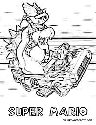mario kart coloring pages 29270 bestofcoloring com