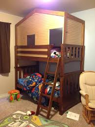 Fort Bunk Bed Fort Loft Bed Our New Bunk Bed Fort Bunk Bed Wainscoting And A