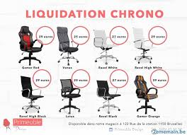 destockage bureau destockage chaise bureau a vendre 2ememain be