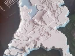 netherlands height map netherlands topographic 3d map makeredchallenge 2 0 by mitrasmit