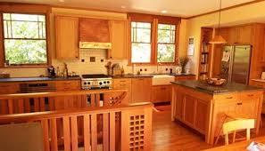 Kitchen Cabinets Craftsman Style Craftsman Style Kitchen Arts And Crafts Cabinets White Lacquered