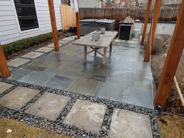 Beach Patio Red Flagstone Patio Evergreen Colorado