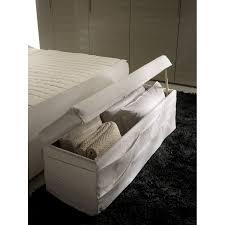 coffre de rangement chambre coffre toscana avec revêtement amovible pour rangement de linge