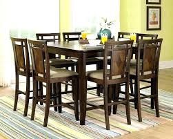 High Counter Table Dining Room Top Modern Bar Stool Height Table Regarding Residence