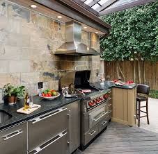 outdoor kitchen idea gorgeous best 25 outdoor kitchens ideas on