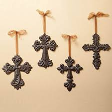 crosses for wall cast iron crosses wall decor home kitchen