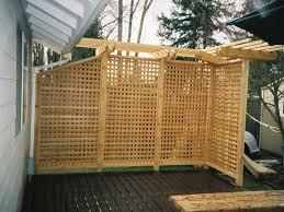 wooden outdoor patio screen ideas quecasita
