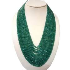 natural beads necklace images Natural emerald beads necklace beads necklace asian gems jpg