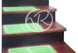 tappeto per scale 2 tappetino fluorescente per scale gradini tappeto antiscivolo