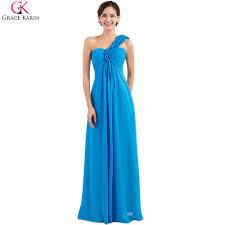 grace karin plus size evening dresses 2017 chiffon grey blue