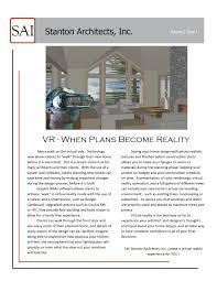 newsletter stanton architects inc
