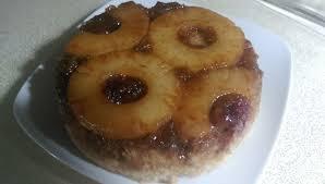 rice cooker pineapple upside down cake 9 steps