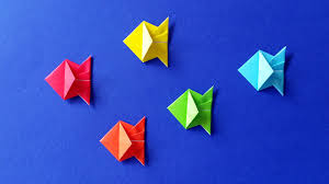 how to make an origami fish easy tutorial diy stéphane