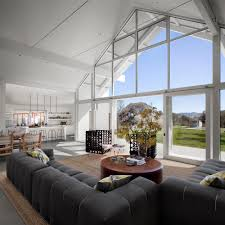 modern barn modern barn ranch style house in the san francisco bay area