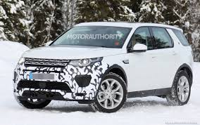 discovery land rover 2016 2018 land rover discovery sport performance model spy shots