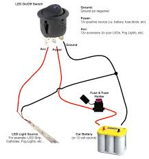 on off switch u0026 led rocker switch wiring diagrams oznium forum