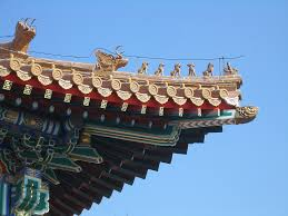 roof decorations raising the roof south china s intricate temple eaves decorations