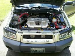 subaru forester grill added some bling to the forester u0027s engine bay d subaru