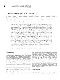 preclinical safety profile of sildenafil pdf download available
