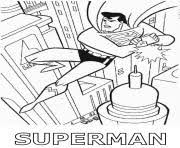 free superman 0f02 coloring pages printable