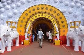 file durga puja pandal interior biswamilani club padmapukur