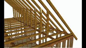 using walls instead of purlin braces to support roof rafters