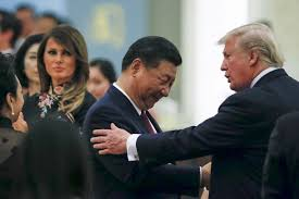 trump set aside his blistering rhetoric with china