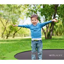 circular in ground trampolines plum play