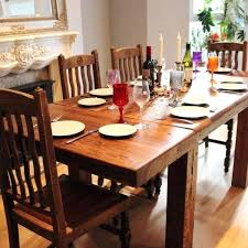 Rustic Wood Dining Room Table Wooden Dining Set Dining Tables Gallery Custom Rustic Wood Dining