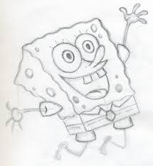 let u0027s draw spongebob