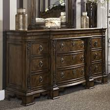 Bedroom Furniture With Hidden Compartments Traditional Dresser With Nine Drawers Including Hidden Drawer By