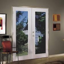 patio doors shop reliabilt series in clear glass white vinyl