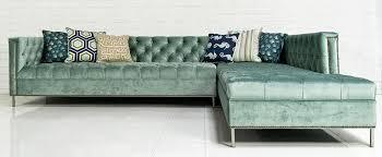 Velvet Sectional Sofa Www Roomservicestore Com Hollywood Sectional In Brussels Aqua Velvet