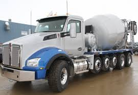 kw trucks kenworth t880 concrete mixer with mx 11 engine to headline world