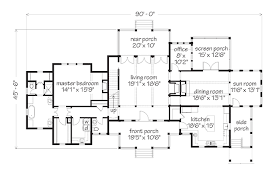 floor plans southern living ashepoo crossroads house southern living house plans