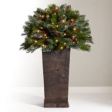 buy john lewis balmoral pre lit potted berry bush 3ft john lewis