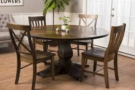 60 dining room table round heirloom pedestal table james james furniture springdale