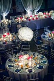 Blue Wedding Centerpieces navy blue wedding centerpieces reference for wedding decoration