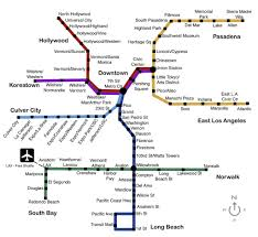 la metro rail map los angeles metro rail map electric travel books