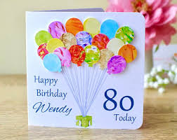 personalised birthday balloons personalised birthday card handmade custom birthday balloons