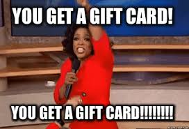 Meme Gifts - are gift cards thoughtless vandenvogue