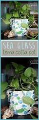 sea glass planter make this planter from your collection of sea
