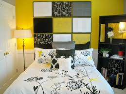 Black And White Bedroom With Yellow Accents Bedroom Yellow Bedroom Ideas 45 Black White And Yellow Bedroom