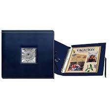 pioneer scrapbook box 3 ring sewn frame 12x12 scrapbook box color navy blue sbx12 navy