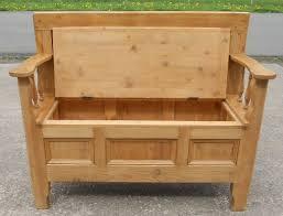 Hallway Storage Bench 2 Seat Bench Box Seat Home Decorating Interior Design Bath U0026 Kitchen