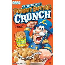 Captain Crunch Halloween Costume Cap U0027n Crunch Breakfast Cereal Peanut Butter Crunch 17 1 Oz