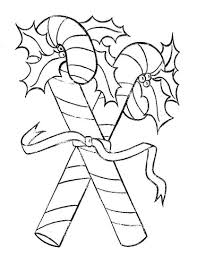 Candy Canes For You To Color Coloring Page Free Printable Tattle Tongue Coloring Page