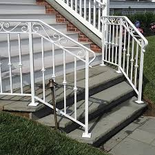 Exterior Stair Handrail Kits Stairs Amazing Iron Railing For Outside Steps Terrific Iron